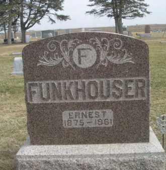 FUNKHOUSER, ERNEST - Polk County, Nebraska | ERNEST FUNKHOUSER - Nebraska Gravestone Photos