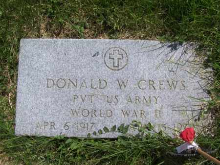 CREWS, DONALD W. - Richardson County, Nebraska | DONALD W. CREWS - Nebraska Gravestone Photos