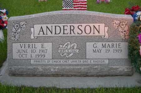 ANDERSON, VERIL E. - Rock County, Nebraska | VERIL E. ANDERSON - Nebraska Gravestone Photos