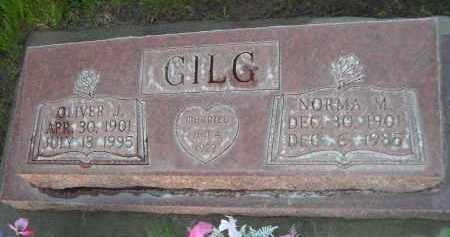 GILG, NORMA M. - Rock County, Nebraska | NORMA M. GILG - Nebraska Gravestone Photos