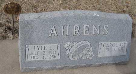 AHRENS, LYLE L. - Saline County, Nebraska | LYLE L. AHRENS - Nebraska Gravestone Photos