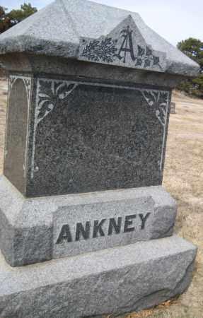 ANKNEY, FAMILY MONUMENT - Saline County, Nebraska | FAMILY MONUMENT ANKNEY - Nebraska Gravestone Photos