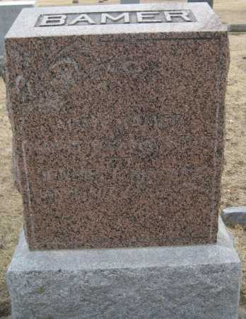 BAMER, JENNIE - Saline County, Nebraska   JENNIE BAMER - Nebraska Gravestone Photos