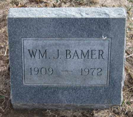 BAMER, WILLIAM J. - Saline County, Nebraska | WILLIAM J. BAMER - Nebraska Gravestone Photos