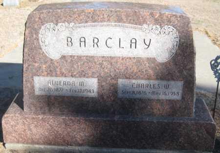 BARCLAY, ALVERDA M. - Saline County, Nebraska | ALVERDA M. BARCLAY - Nebraska Gravestone Photos