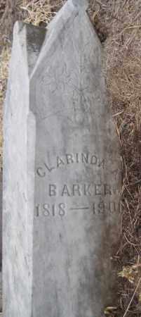 BARKER, CLARINDA - Saline County, Nebraska | CLARINDA BARKER - Nebraska Gravestone Photos