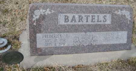 WASSERMAN BARTELS, IRENE LUCILLE - Saline County, Nebraska | IRENE LUCILLE WASSERMAN BARTELS - Nebraska Gravestone Photos