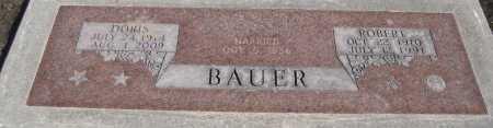 BAUER, DORIS - Saline County, Nebraska | DORIS BAUER - Nebraska Gravestone Photos