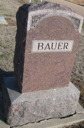 BAUER, FAMILY MONUMENT - Saline County, Nebraska | FAMILY MONUMENT BAUER - Nebraska Gravestone Photos