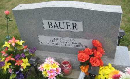 BAUER, JOAN - Saline County, Nebraska | JOAN BAUER - Nebraska Gravestone Photos