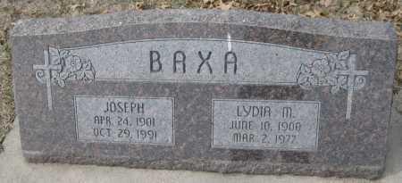 "LORENZ BAXA, LUDMILLA ""LYDIA"" MARY - Saline County, Nebraska | LUDMILLA ""LYDIA"" MARY LORENZ BAXA - Nebraska Gravestone Photos"