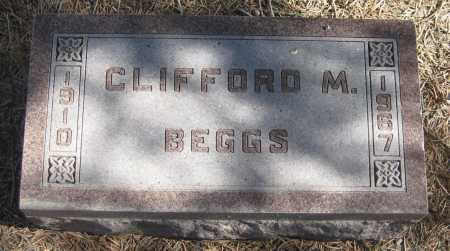 BEGGS, CLIFFORD M. - Saline County, Nebraska | CLIFFORD M. BEGGS - Nebraska Gravestone Photos