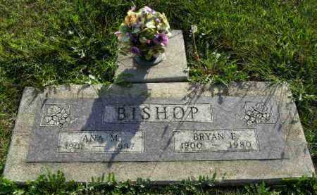 BISHOP, ANA MAE - Saline County, Nebraska | ANA MAE BISHOP - Nebraska Gravestone Photos
