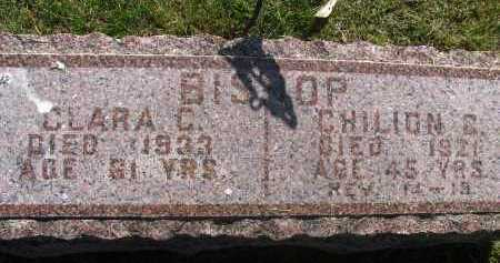 BISHOP, CLARA C. - Saline County, Nebraska | CLARA C. BISHOP - Nebraska Gravestone Photos