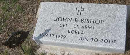 BISHOP, JOHN B. - Saline County, Nebraska | JOHN B. BISHOP - Nebraska Gravestone Photos