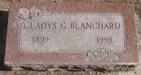 BLANCHARD, GLADYS G. - Saline County, Nebraska | GLADYS G. BLANCHARD - Nebraska Gravestone Photos