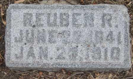BUCHTEL, REUBEN R. - Saline County, Nebraska | REUBEN R. BUCHTEL - Nebraska Gravestone Photos