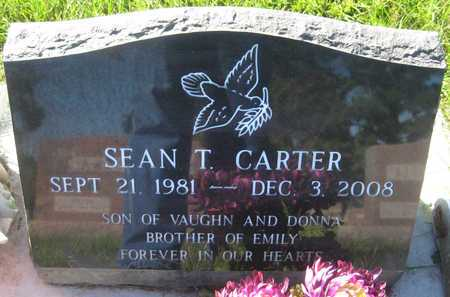 CARTER, SEAN T. - Saline County, Nebraska | SEAN T. CARTER - Nebraska Gravestone Photos