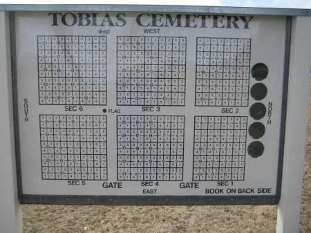 *TOBIAS CEMETERY, LOT DIRECTORY - Saline County, Nebraska | LOT DIRECTORY *TOBIAS CEMETERY - Nebraska Gravestone Photos