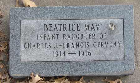 CERVENY, BEATRICE MAY - Saline County, Nebraska | BEATRICE MAY CERVENY - Nebraska Gravestone Photos