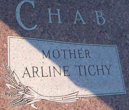 CHAB, ARLINE - Saline County, Nebraska | ARLINE CHAB - Nebraska Gravestone Photos