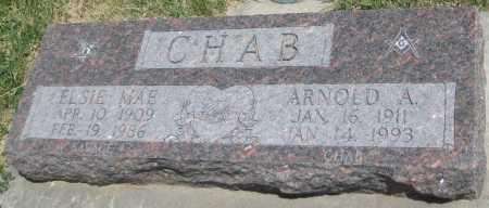 CHAB, ELSIE MAE - Saline County, Nebraska | ELSIE MAE CHAB - Nebraska Gravestone Photos