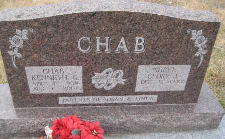 CHAB, GLORY J. - Saline County, Nebraska | GLORY J. CHAB - Nebraska Gravestone Photos