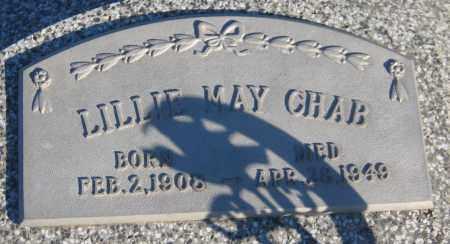 CHAB, LILLIE MAY - Saline County, Nebraska | LILLIE MAY CHAB - Nebraska Gravestone Photos