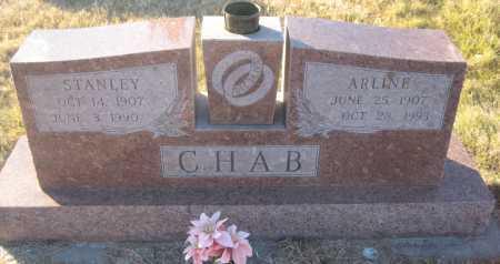 CHAB, STANLEY - Saline County, Nebraska | STANLEY CHAB - Nebraska Gravestone Photos