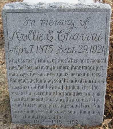 ULDRICH CHARVAT, MOLLIE E. - Saline County, Nebraska | MOLLIE E. ULDRICH CHARVAT - Nebraska Gravestone Photos