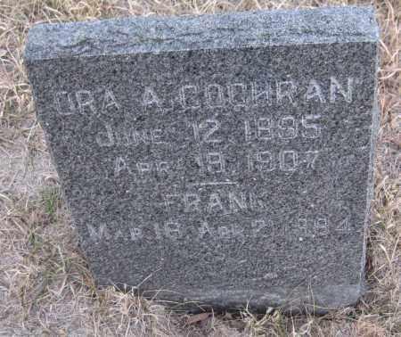COCHRAN, ORA A. - Saline County, Nebraska | ORA A. COCHRAN - Nebraska Gravestone Photos