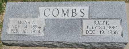 COMBS, MONA A. - Saline County, Nebraska | MONA A. COMBS - Nebraska Gravestone Photos