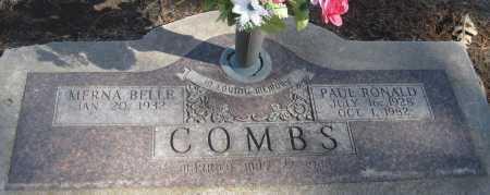 COMBS, PAUL RONALD - Saline County, Nebraska | PAUL RONALD COMBS - Nebraska Gravestone Photos
