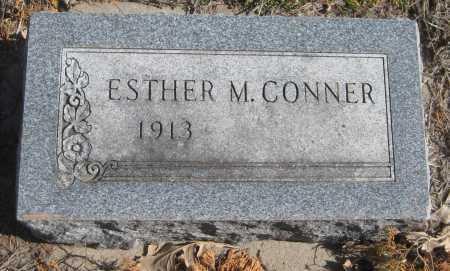 CONNER, ESTHER M. - Saline County, Nebraska | ESTHER M. CONNER - Nebraska Gravestone Photos
