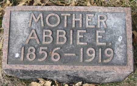 CRANDALL, ABBIE E. - Saline County, Nebraska | ABBIE E. CRANDALL - Nebraska Gravestone Photos