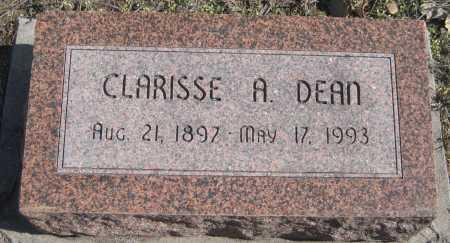 DEAN, CLARISSE A. - Saline County, Nebraska | CLARISSE A. DEAN - Nebraska Gravestone Photos