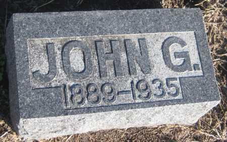DEINES, JOHN G. - Saline County, Nebraska | JOHN G. DEINES - Nebraska Gravestone Photos