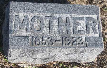 DEINES, MOTHER - Saline County, Nebraska | MOTHER DEINES - Nebraska Gravestone Photos
