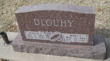 DLOUHY, ADOLPH J. - Saline County, Nebraska | ADOLPH J. DLOUHY - Nebraska Gravestone Photos