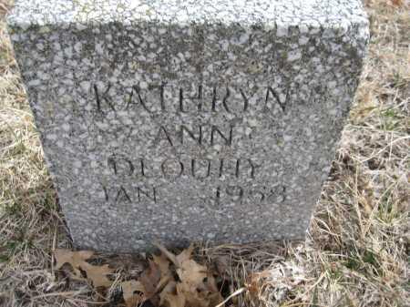DLOUHY, KATHRYN ANN - Saline County, Nebraska | KATHRYN ANN DLOUHY - Nebraska Gravestone Photos