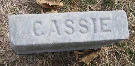 DORRANCE, CASSIE - Saline County, Nebraska   CASSIE DORRANCE - Nebraska Gravestone Photos