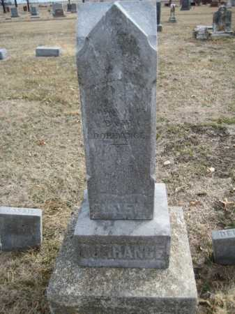 DORRANCE, DELLA - Saline County, Nebraska | DELLA DORRANCE - Nebraska Gravestone Photos
