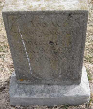DORRANCE, JOHN W. - Saline County, Nebraska | JOHN W. DORRANCE - Nebraska Gravestone Photos