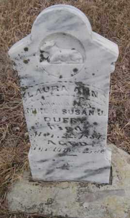 DUFFY, LAURA ANN - Saline County, Nebraska | LAURA ANN DUFFY - Nebraska Gravestone Photos
