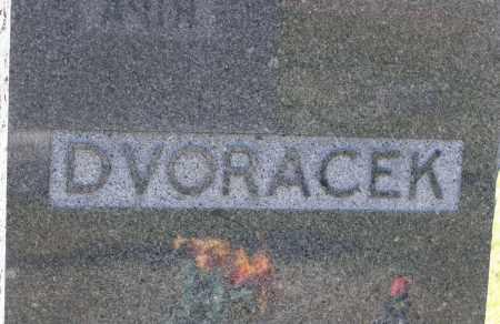 DVORACEK, FAMILY MONUMENT - Saline County, Nebraska | FAMILY MONUMENT DVORACEK - Nebraska Gravestone Photos