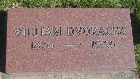 DVORACEK, WILLIAM - Saline County, Nebraska | WILLIAM DVORACEK - Nebraska Gravestone Photos