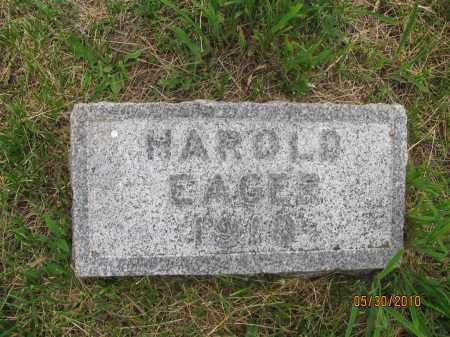 EAGES, HAROLD - Saline County, Nebraska | HAROLD EAGES - Nebraska Gravestone Photos