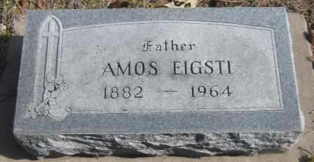EIGSTI, AMOS - Saline County, Nebraska   AMOS EIGSTI - Nebraska Gravestone Photos