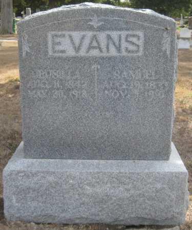 EVANS, DRUSILLA - Saline County, Nebraska | DRUSILLA EVANS - Nebraska Gravestone Photos
