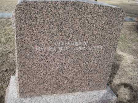 EVANS, LEE EDWARD - Saline County, Nebraska | LEE EDWARD EVANS - Nebraska Gravestone Photos